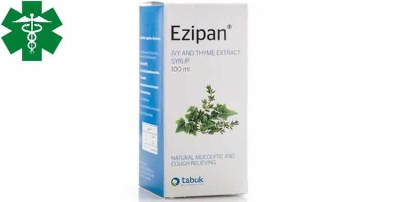ايزيبان Ezipan شراب مذيب للبلغم ومهديء للسعال النشرة الداخلية ومعلومات الدواء موقع عرب طب
